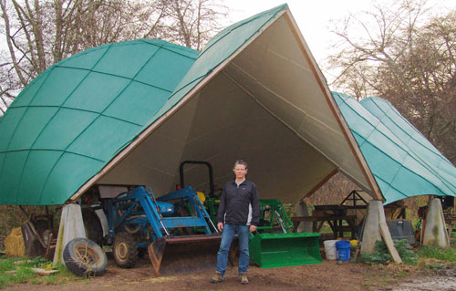 Farm Equipment Shelters : Conic shelter
